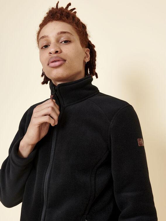 Warm fleece jacket