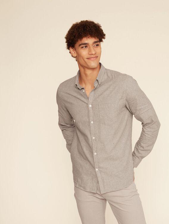 Chemise flannelle ajustée