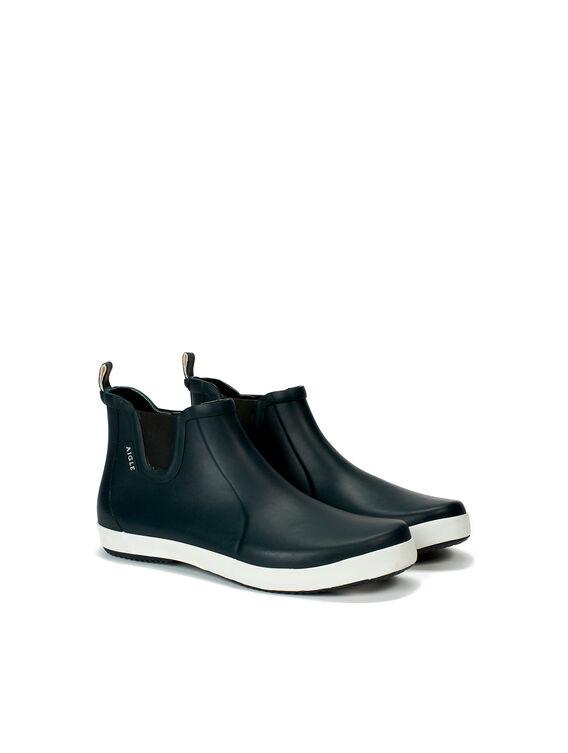 Men's rubber ankle boots