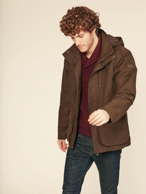 Versatile hunting jacket