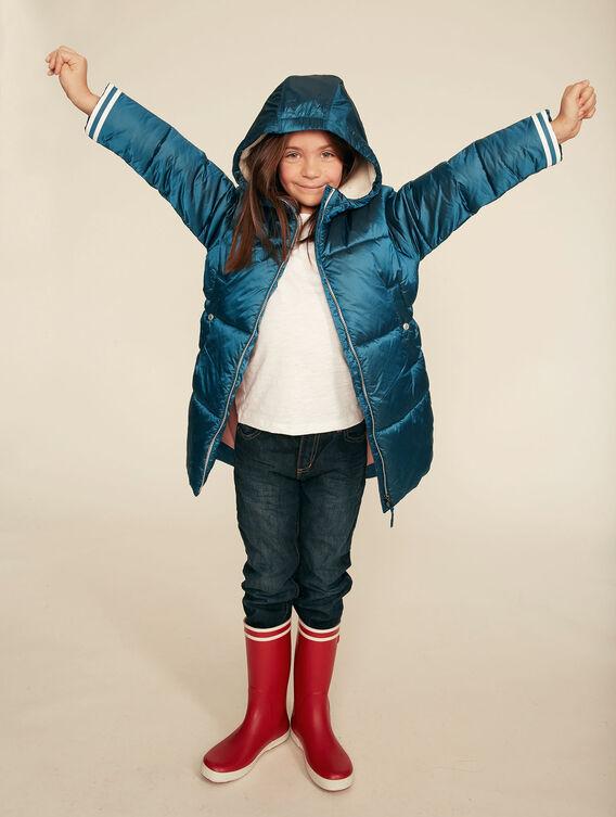 Warme Daunenjacke für kleine Mädchen