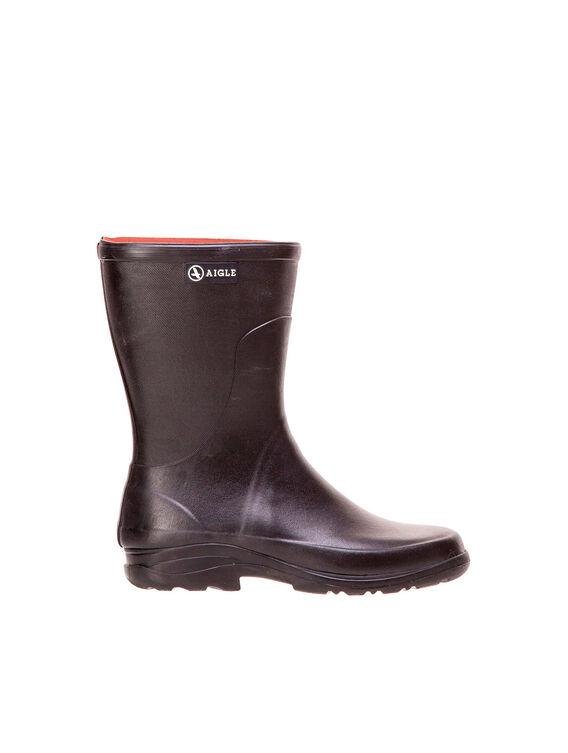 Men's rubber leisure ankle boots
