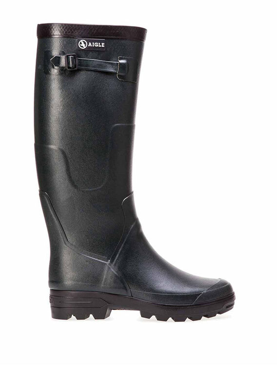 Unisex's rubber hunting boots