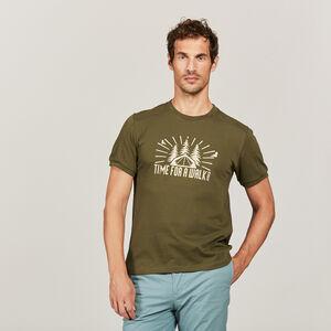 T-shirt serigraphie avec thermo-regulation