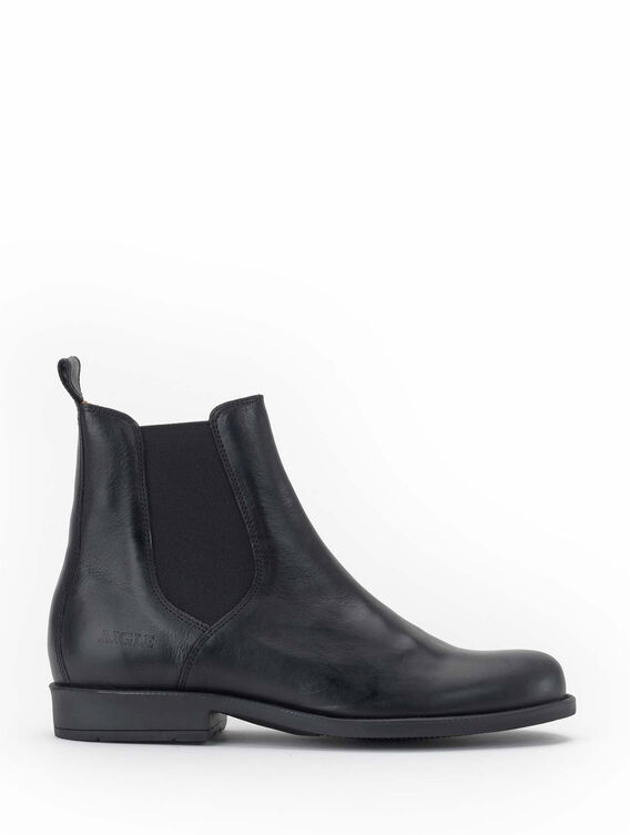 Bottines en cuir Homme