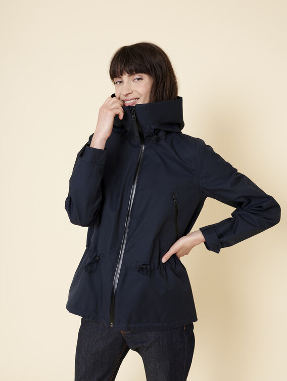 Waterproof and windproof parka