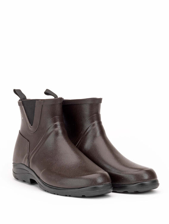 Men's rubber walking ankle boots