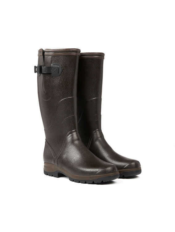 Men's rubber farming boots