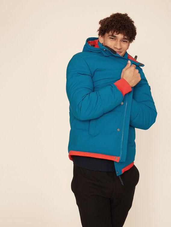 Water-repellent quilted jacket