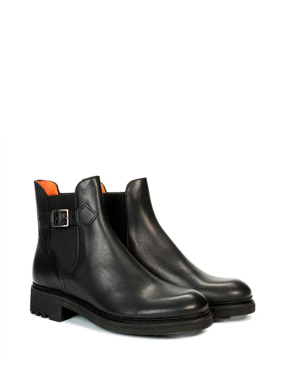 Women's leather ankle boots