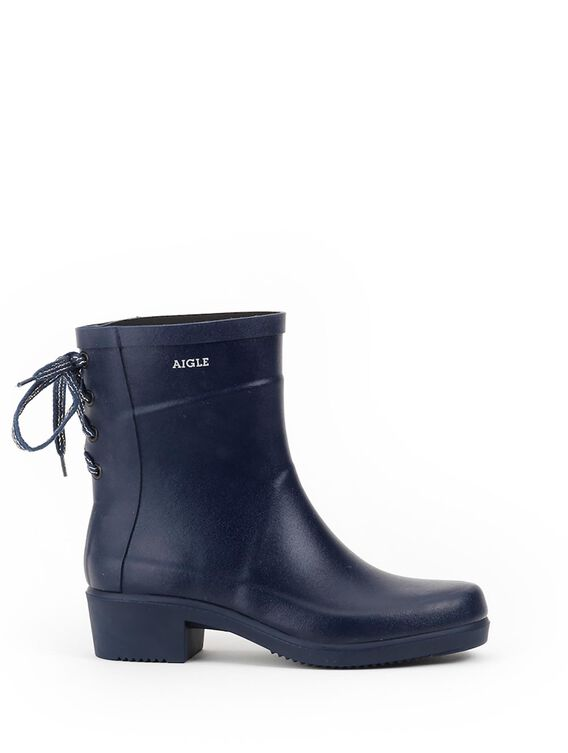 Women's rubber ankle boots