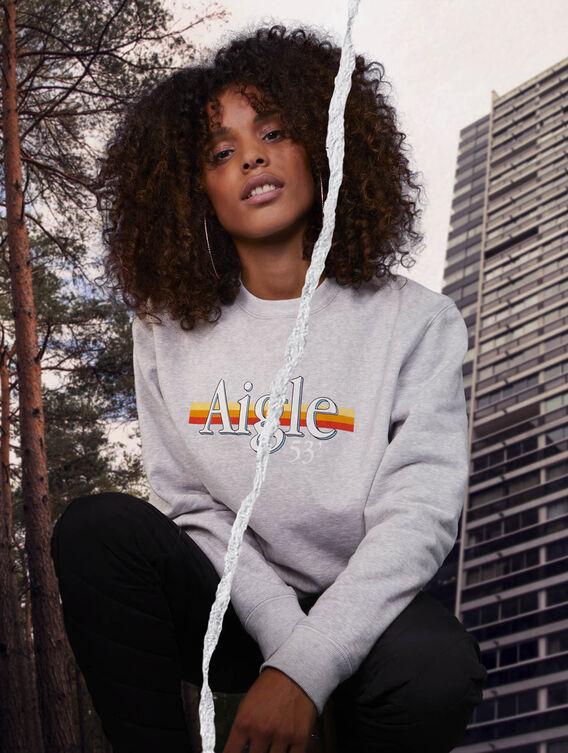Fleece sweatshirt x Tealer