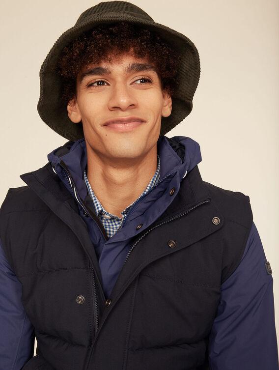 Warme, wasserabweisende, ärmellose Jacke