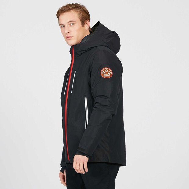 3-in-1 waterproof, breathable skiing jacket