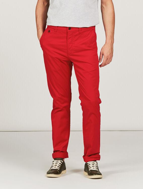 Pantalon coupe chino