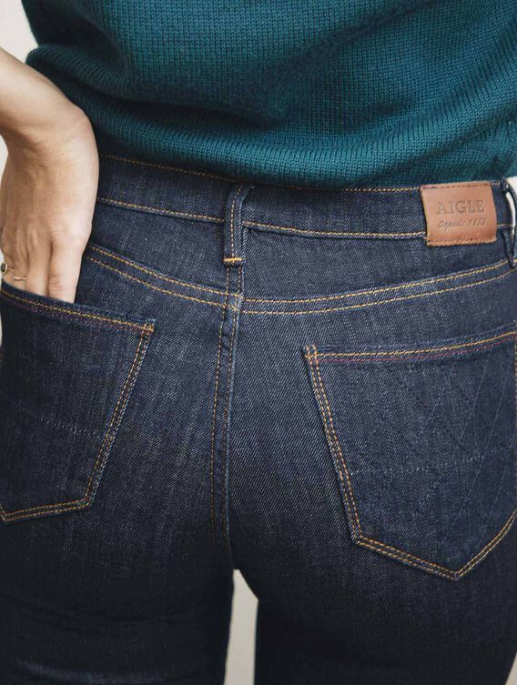 Jeans aus Baumwollstretch