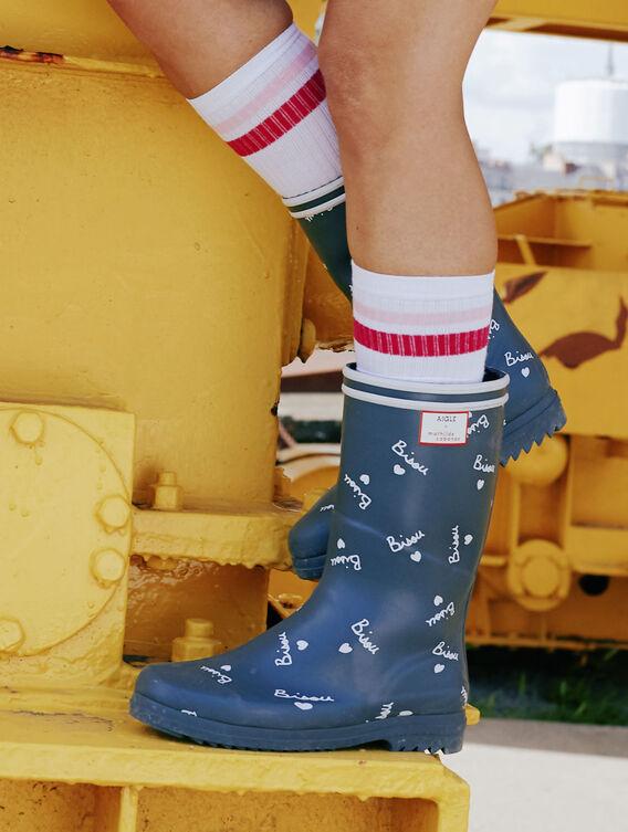 Urban woman rain boot x Mathilde Cabanas