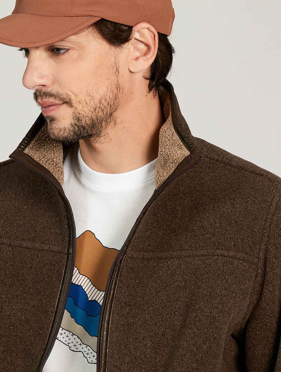 Polartec®-Blouson mit Sherpa-Fleece