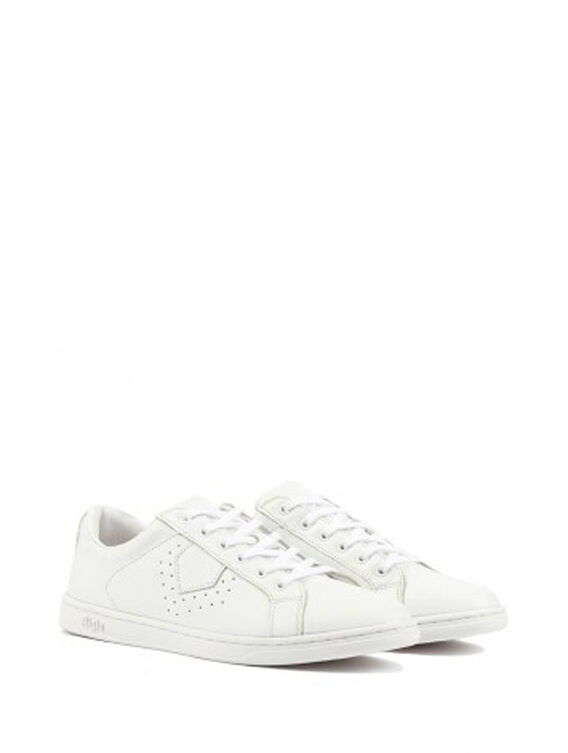 Women's leather trainers