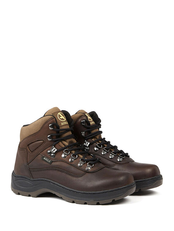 Unisex's leather boots