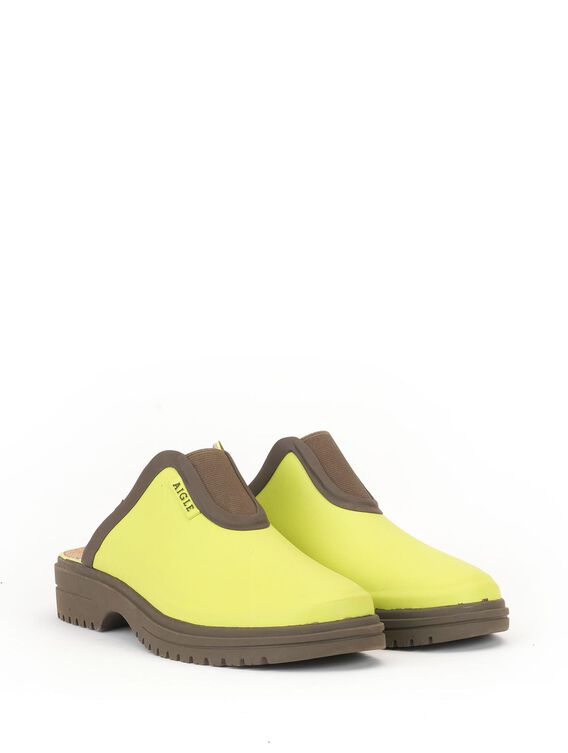 Women's adjustable leisure clog