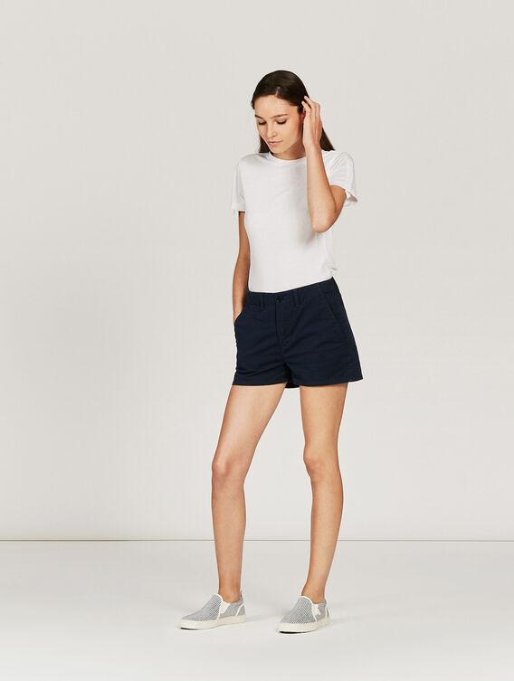 Summer shorts in cotton
