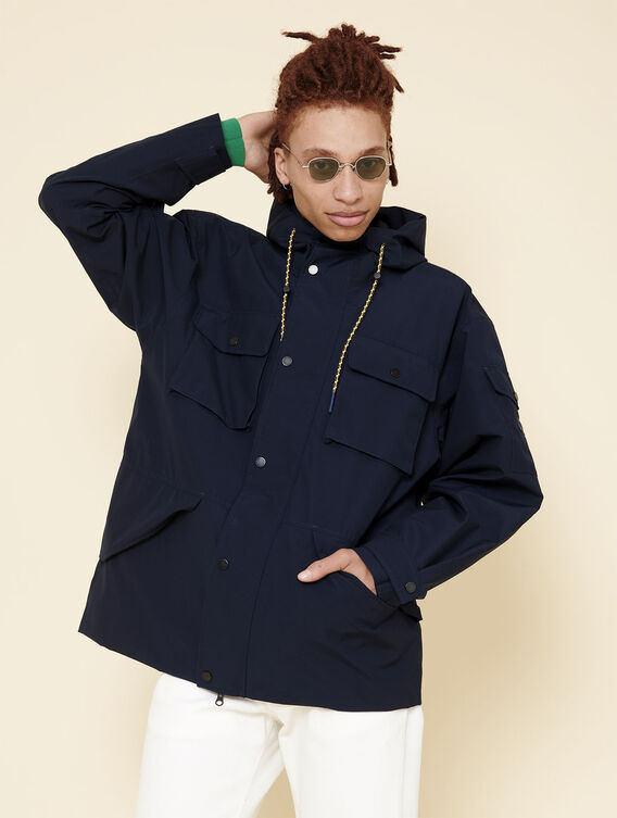 Windproof and waterproof parka
