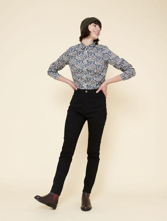 Slim-Schnitt-Hose mit Stretch