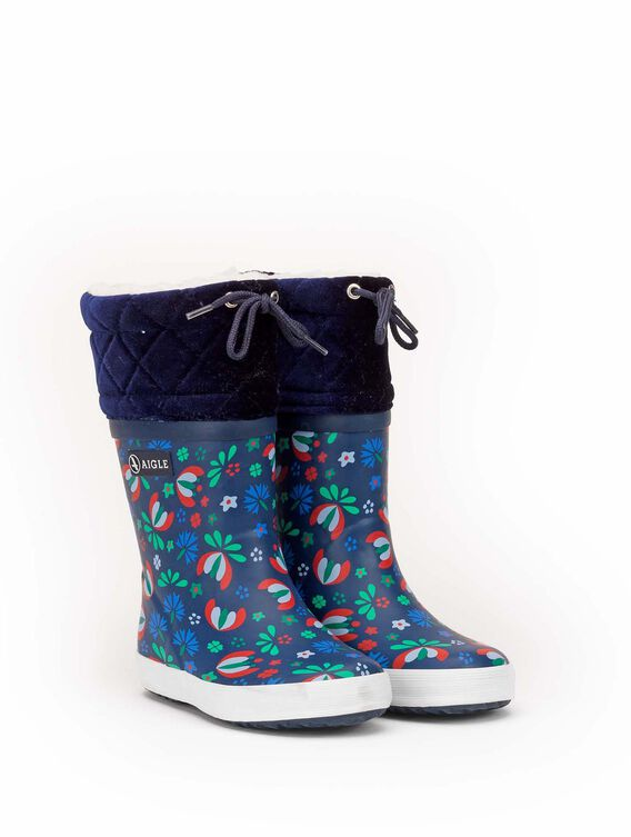 Children's warm snow boots