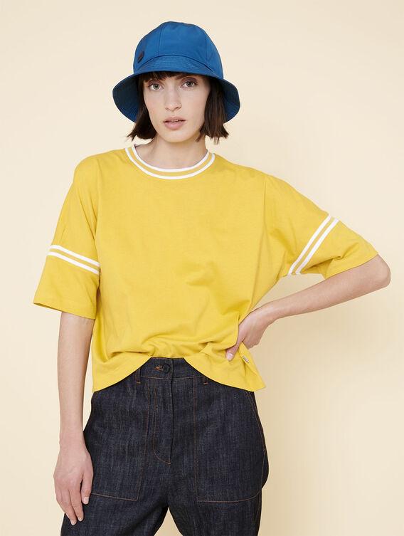 T-shirt manches courtes oversize