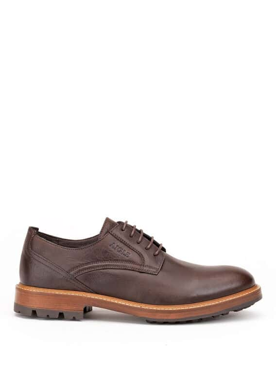 Men's leather Derby shoes, made in Portugal