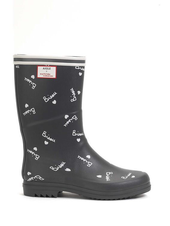 Urban woman rain boot x Mathilde Cabanas