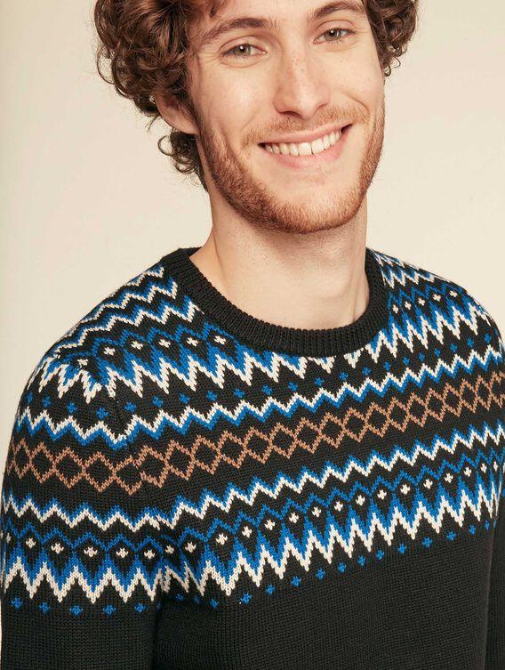 Weihnachtspullover aus Wolle