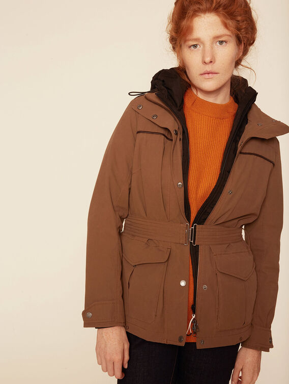 Versatile post-hunting parka