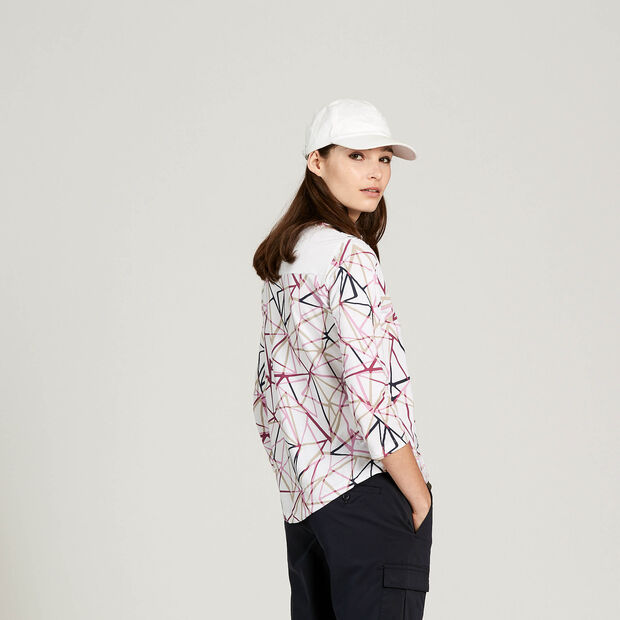 Long-sleeved T-shirt with heat regulation