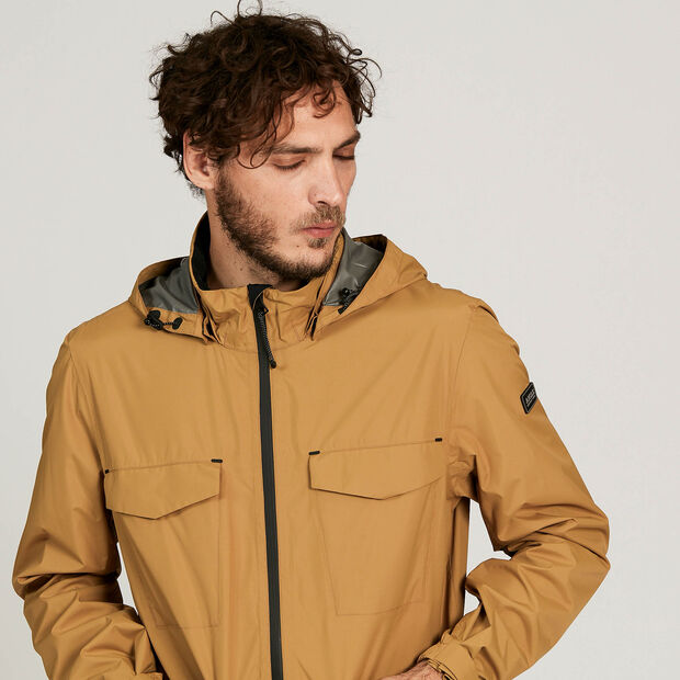 Waterproof and windproof multi-pocket parka