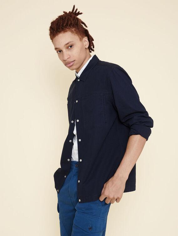 Hybrid cotton shirt