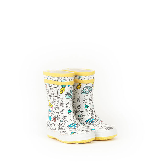 Aigle x OMY : Bottes de pluie enfant
