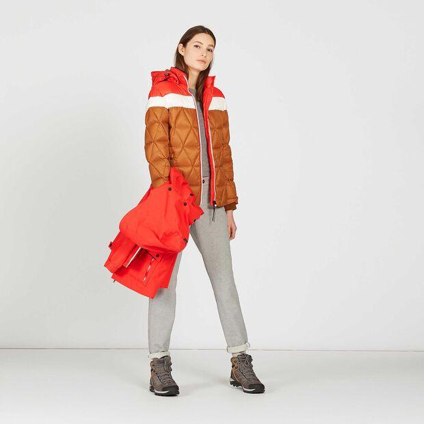 Warme, wasserundurchlässige Skijacke für Damen