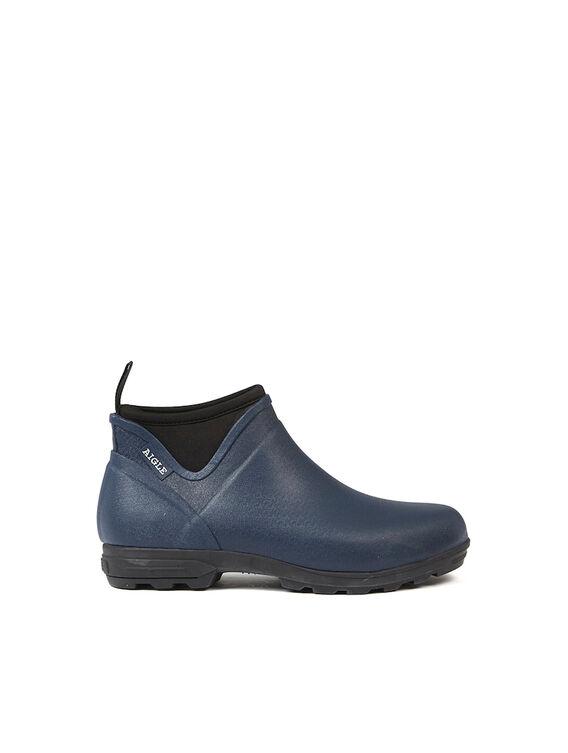 Men's rubber gardening ankle boots