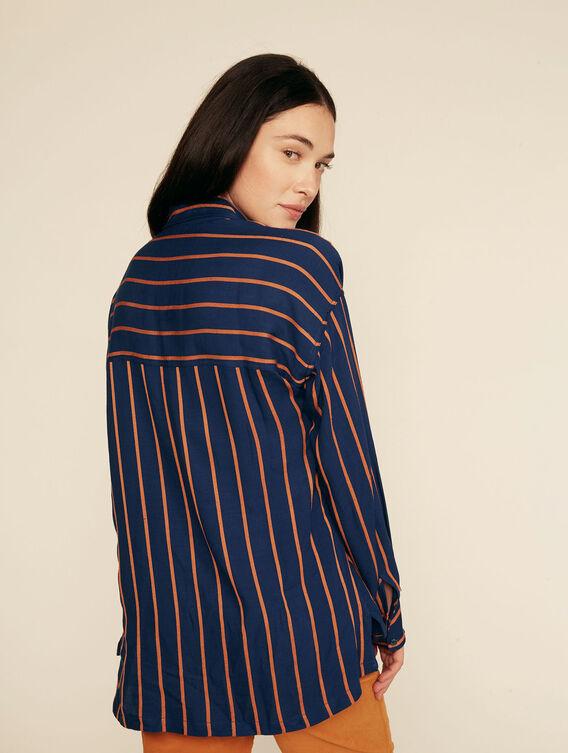Lightweight stripe shirt