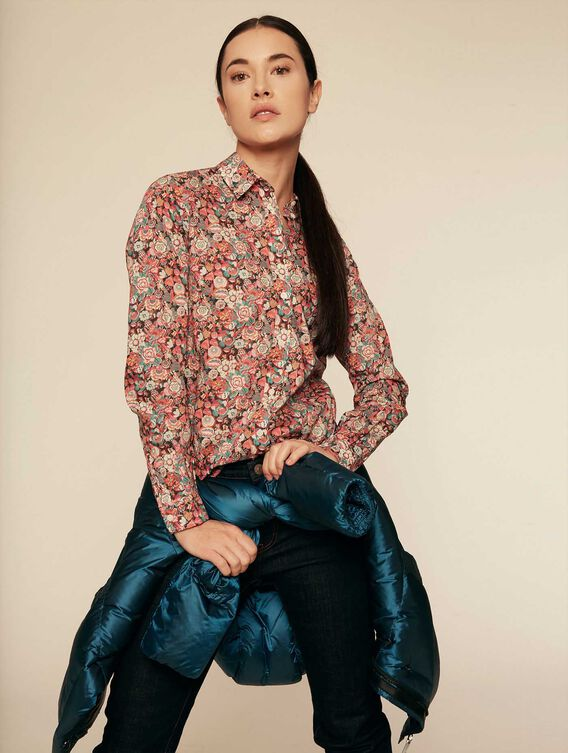 Liberty® fabric print shirt