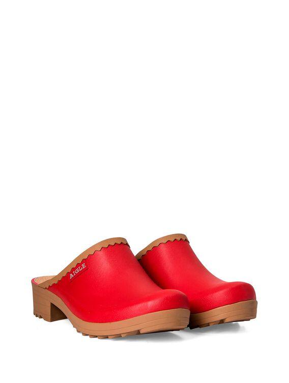 Women's rubber clogs
