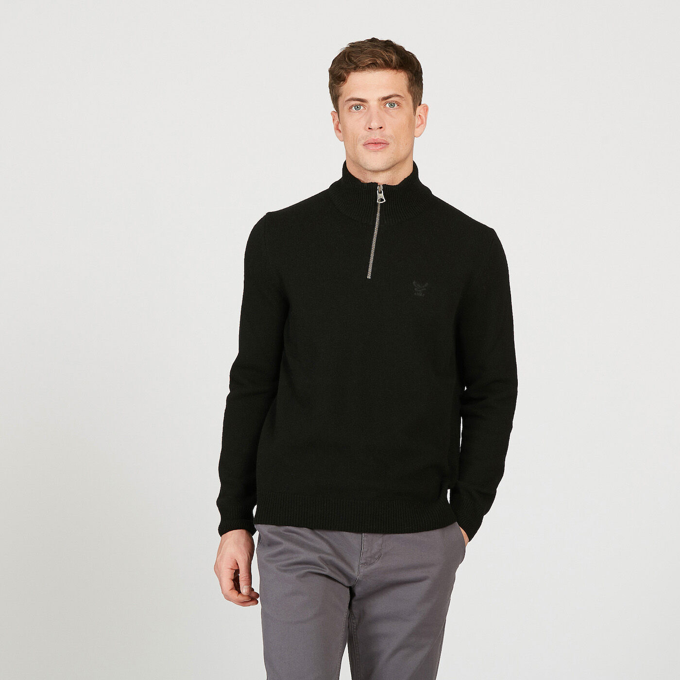 Rond Sweat Aigle Roulé Pull Homme Col w6HAqxpUF