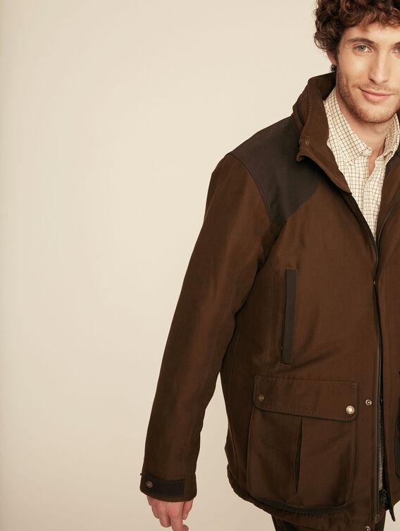 Waterproof hunting jacket