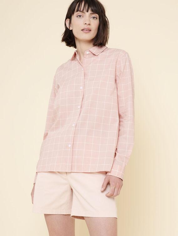 Women's check shirt