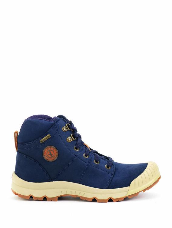Men's leather waterproof walking shoes