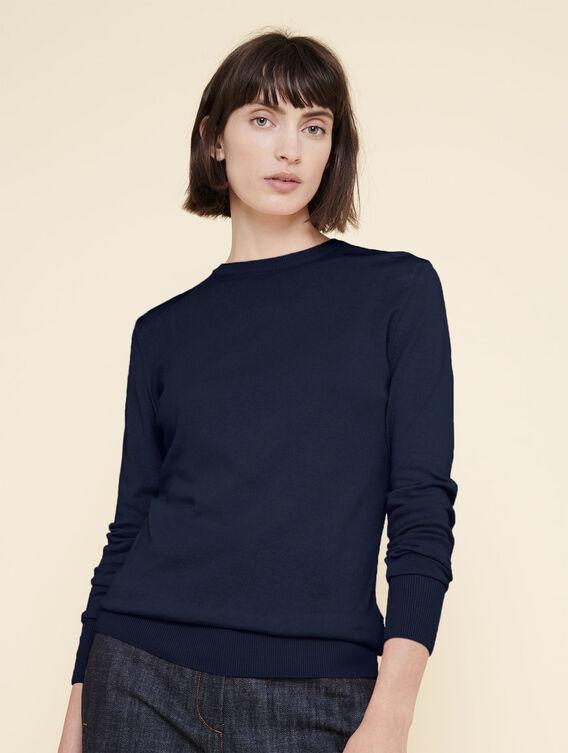 Lightweight cotton jumper