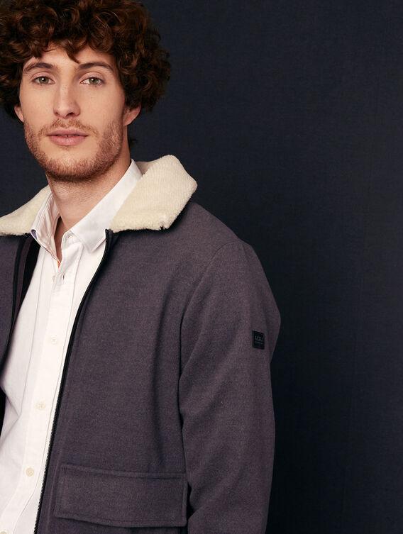 Sherpa-Fleece-Jacke