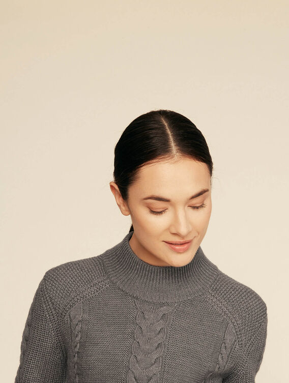 Warm Irish-inspired jumper